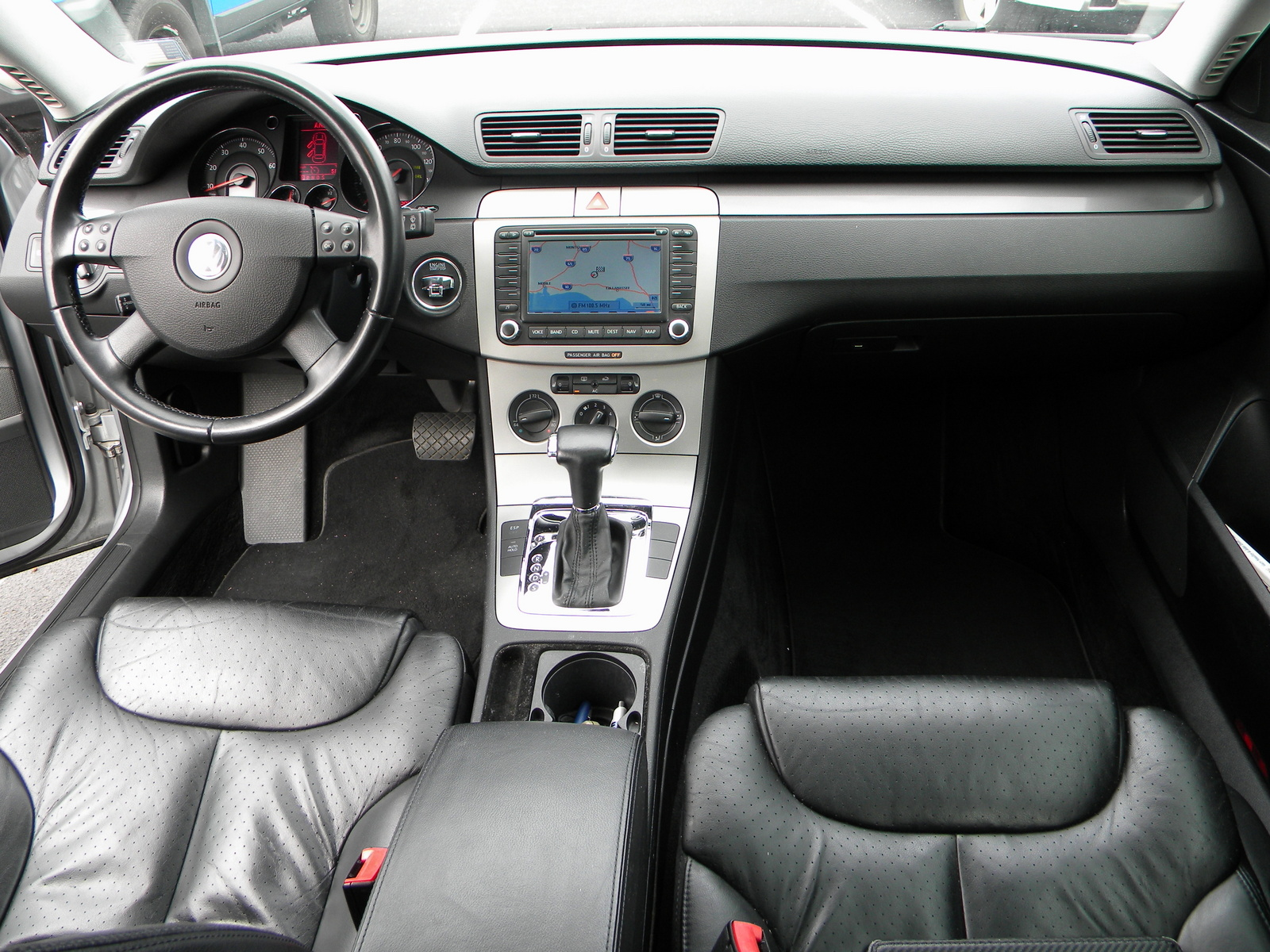 passat 2007 volkswagen interior wagon 0t cargurus