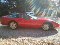 1989 Chevrolet Corvette Coupe, Picture of 1989 Chevrolet Corvette Base, exterior