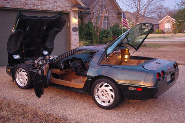 Picture of 1991 Chevrolet Corvette Coupe, exterior, interior