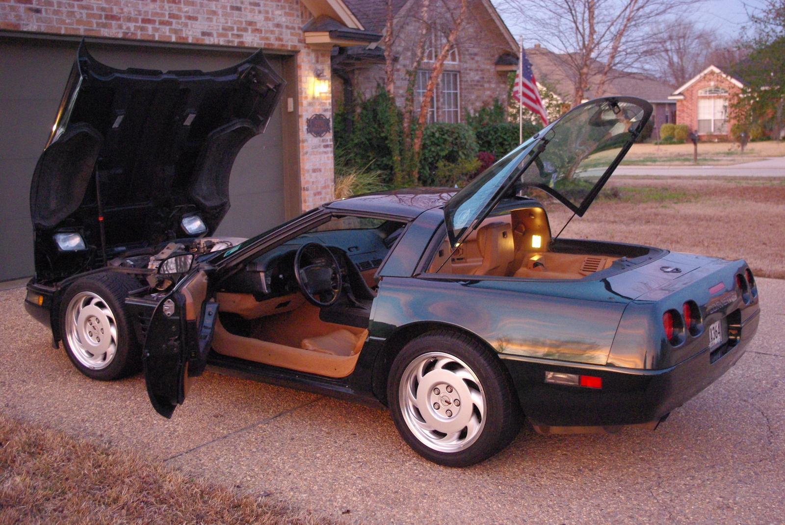 1991 Chevrolet Corvette Coupe, Picture of 1991 Chevrolet Corvette Base, interior, exterior