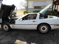 1985 Chevrolet Corvette Coupe, Picture of 1985 Chevrolet Corvette Base, engine, exterior