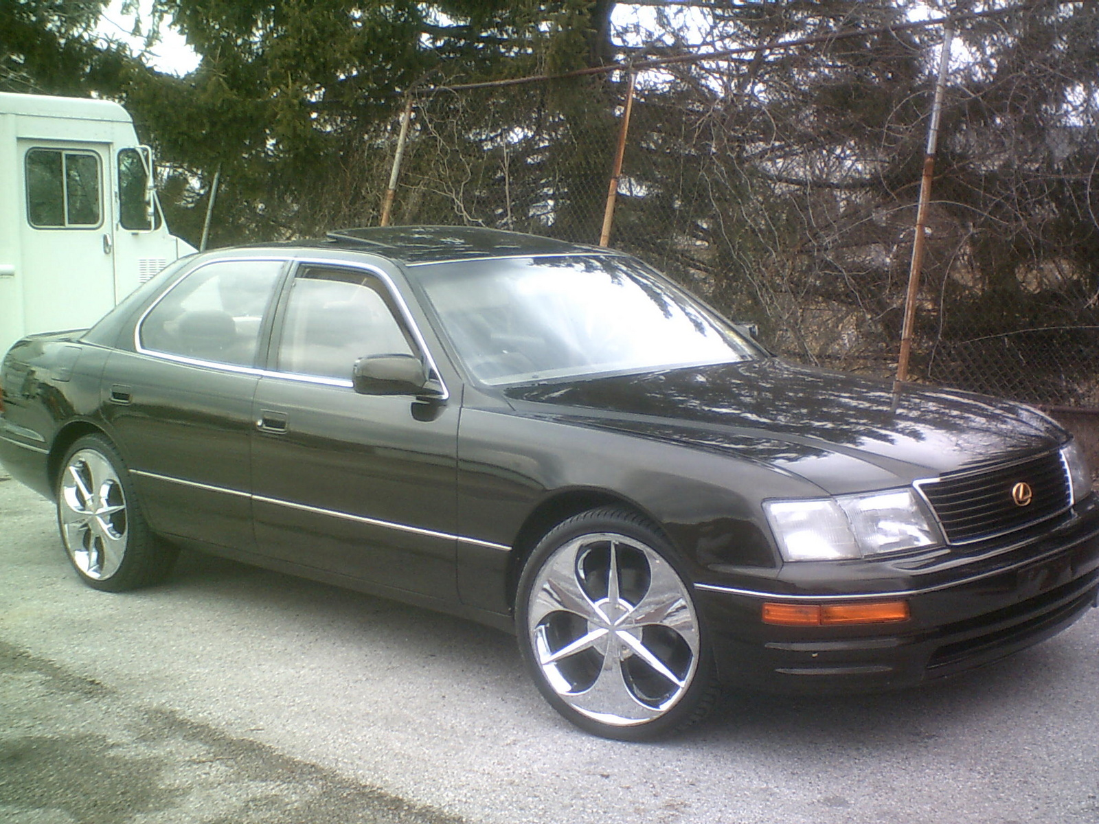 picture of 1995 lexus ls 400 base exterior. Black Bedroom Furniture Sets. Home Design Ideas