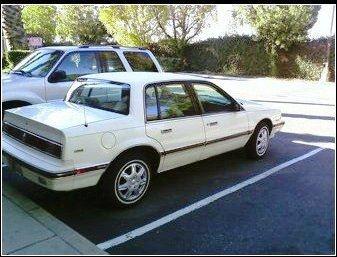 Picture of 1991 Buick Skylark Custom Sedan, exterior