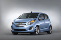 2014 Chevrolet Spark EV, Front-quarter view. Copyright General Motors., exterior, manufacturer