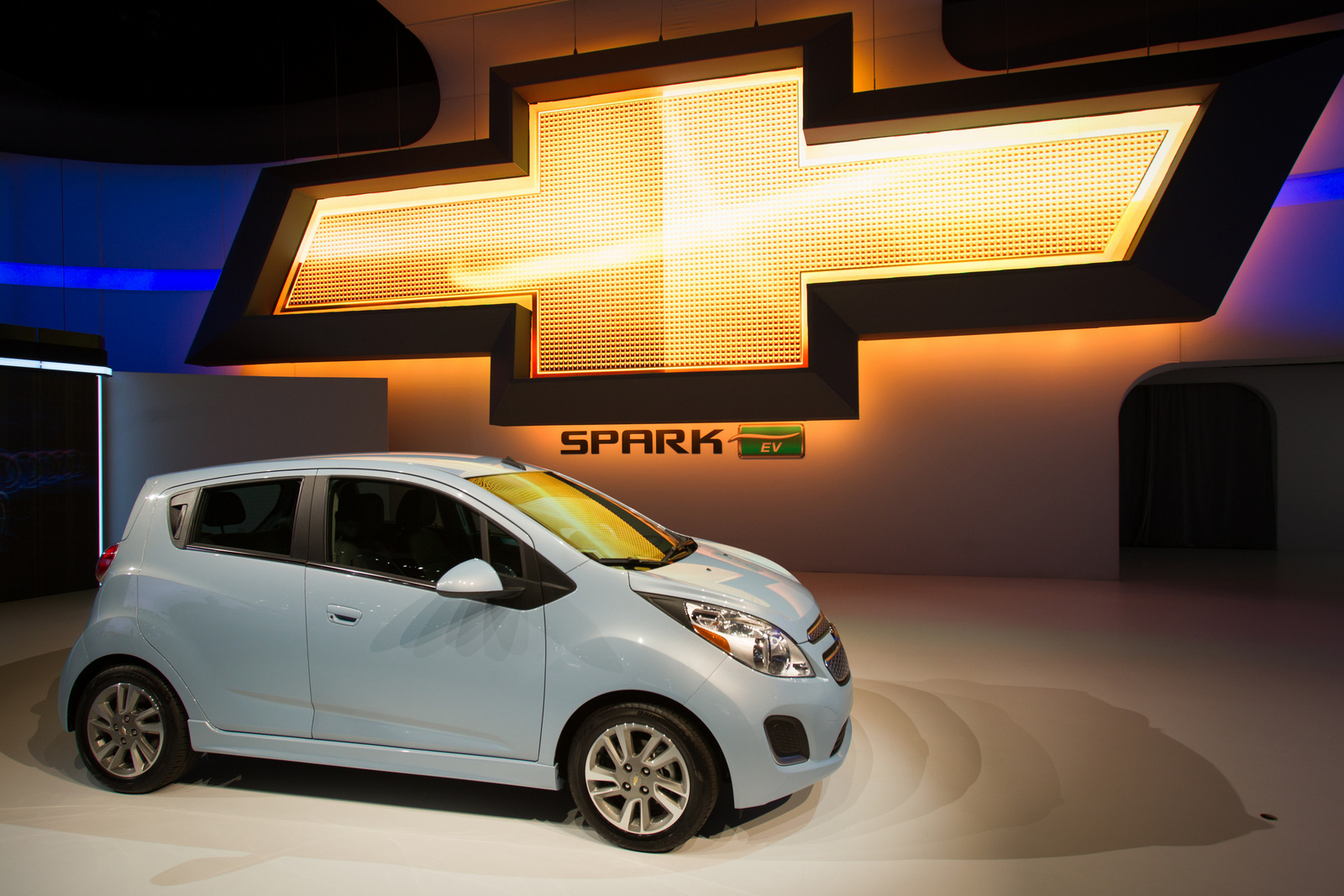 2014 Chevrolet Spark EV, At the LA Auto Show. Copyright General Motors., exterior, manufacturer