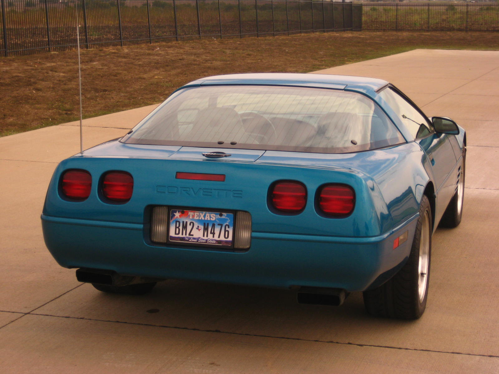 1994 Chevrolet Corvette Coupe, Picture of 1994 Chevrolet Corvette Base, exterior