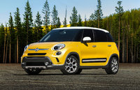 2014 FIAT 500L, Front-quarter view, exterior, manufacturer, gallery_worthy