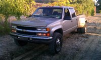 Picture of 1998 Chevrolet C/K 3500 Cheyenne Crew Cab LB 4WD, exterior, gallery_worthy