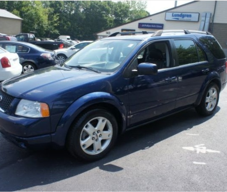 2006 Ford Freestyle Interior: 2005 Ford Freestyle