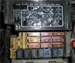 Old Car Values >> Mainenance & Repair Questions - where are the fuse boxes ...