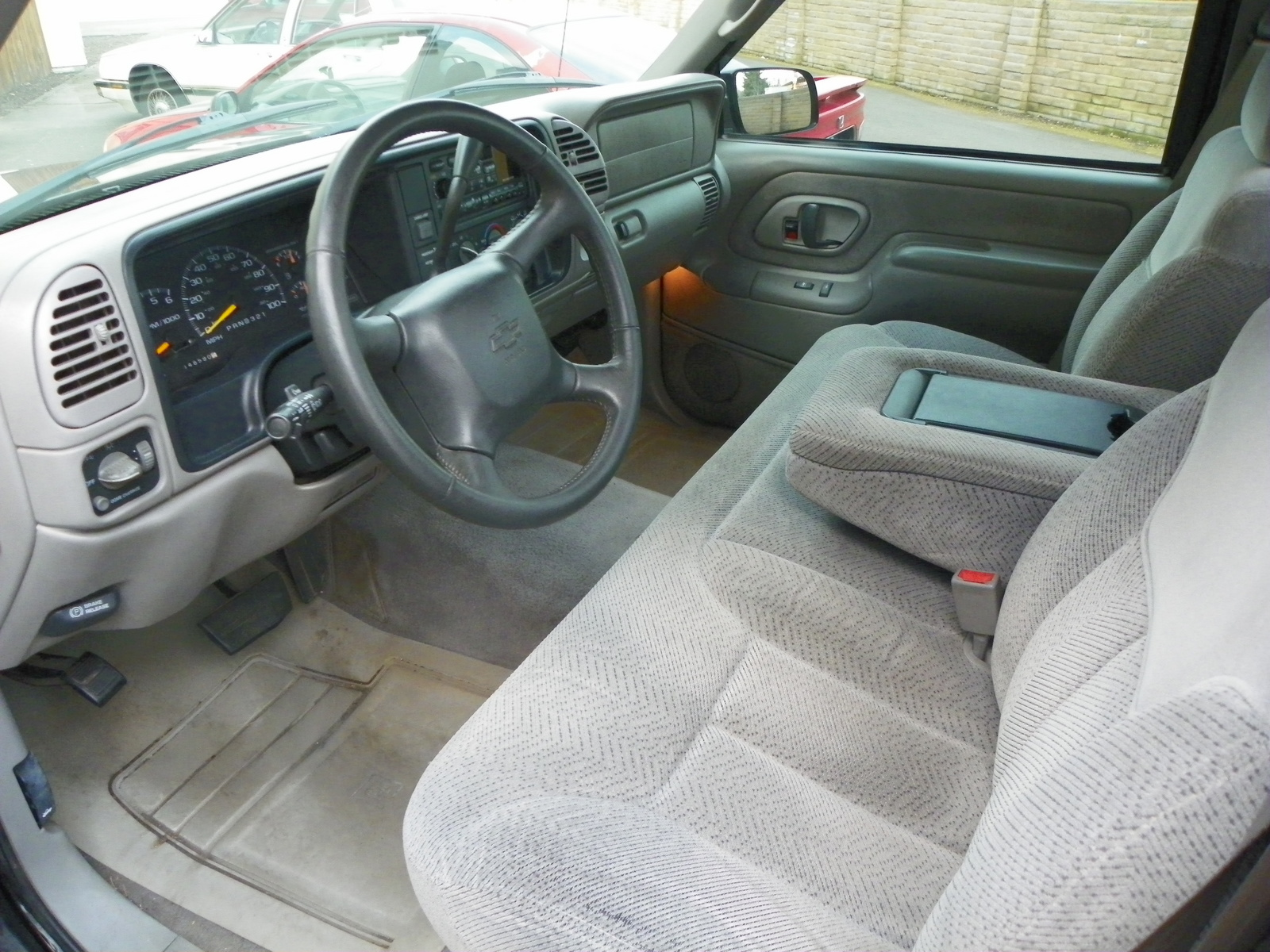 95 Chevy Silverado Interior