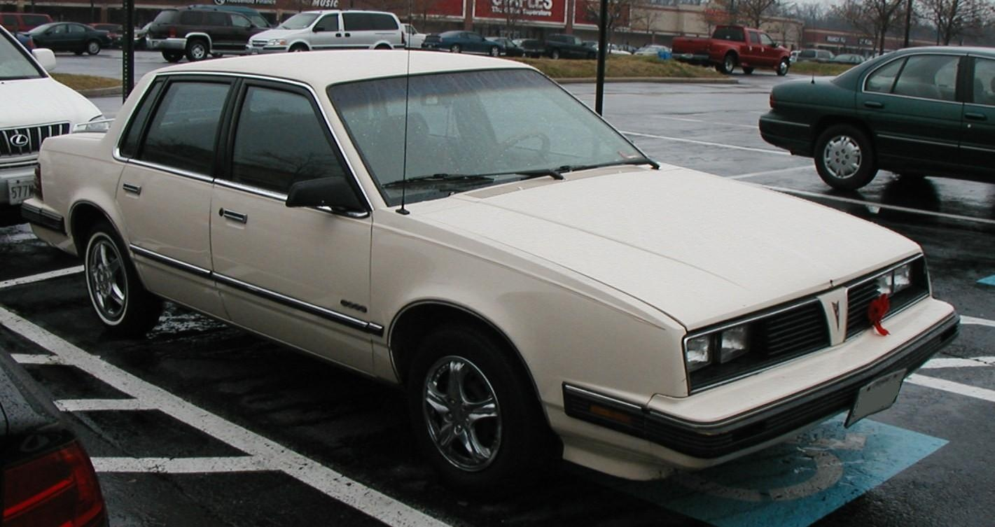 1984 Pontiac 6000 Overview Cargurus