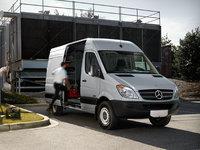 2013 Mercedes-Benz Sprinter Cargo, Front-quarter view, exterior, manufacturer