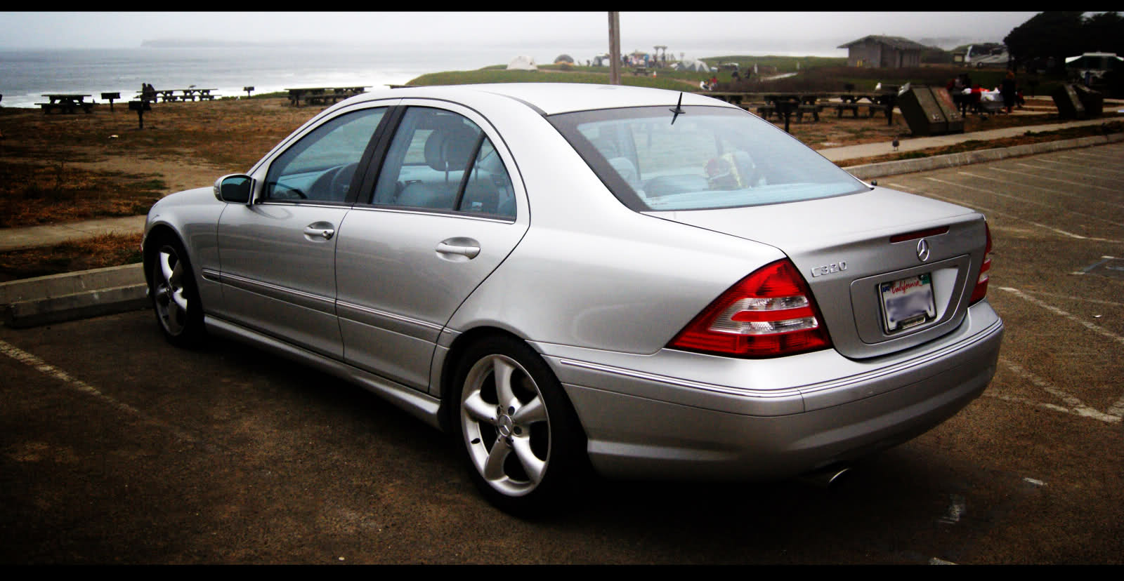 picture of 2005 mercedes benz c class 4 dr c320 sedan. Black Bedroom Furniture Sets. Home Design Ideas