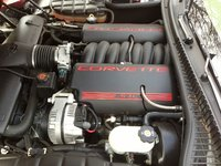 Picture of 2003 Chevrolet Corvette Convertible RWD, engine, gallery_worthy