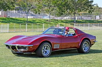 1969 Chevrolet Corvette Coupe, With my grandson. 1969 Vette., exterior