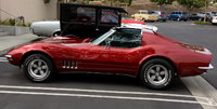 1969 Chevrolet Corvette Coupe, At OC C.A.R.S. visiting old friends., exterior