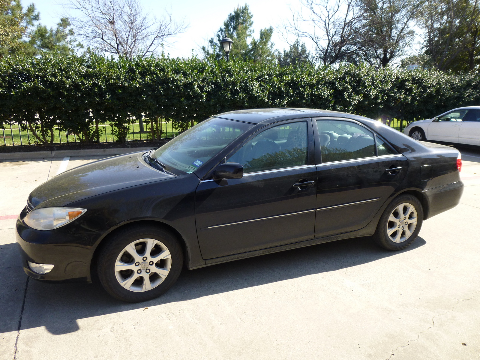 2006 toyota camry xle features 2006 phantom gray pearl toyota camry xle v6 21227163 car co. Black Bedroom Furniture Sets. Home Design Ideas