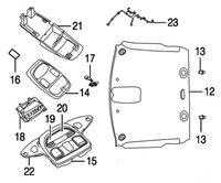 Dodge Ram 1500 Questions - overhead console illumination ...