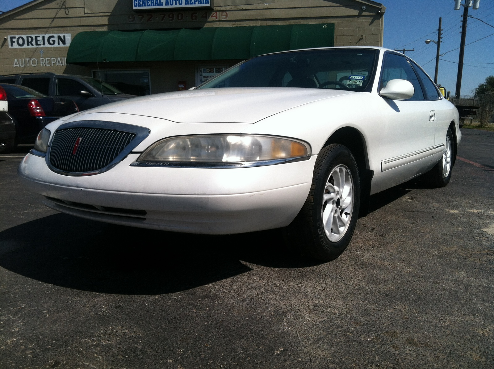 Lincoln Mark Viii Dr Std Coupe Pic on 1997 Lincoln Mark 8 Specs