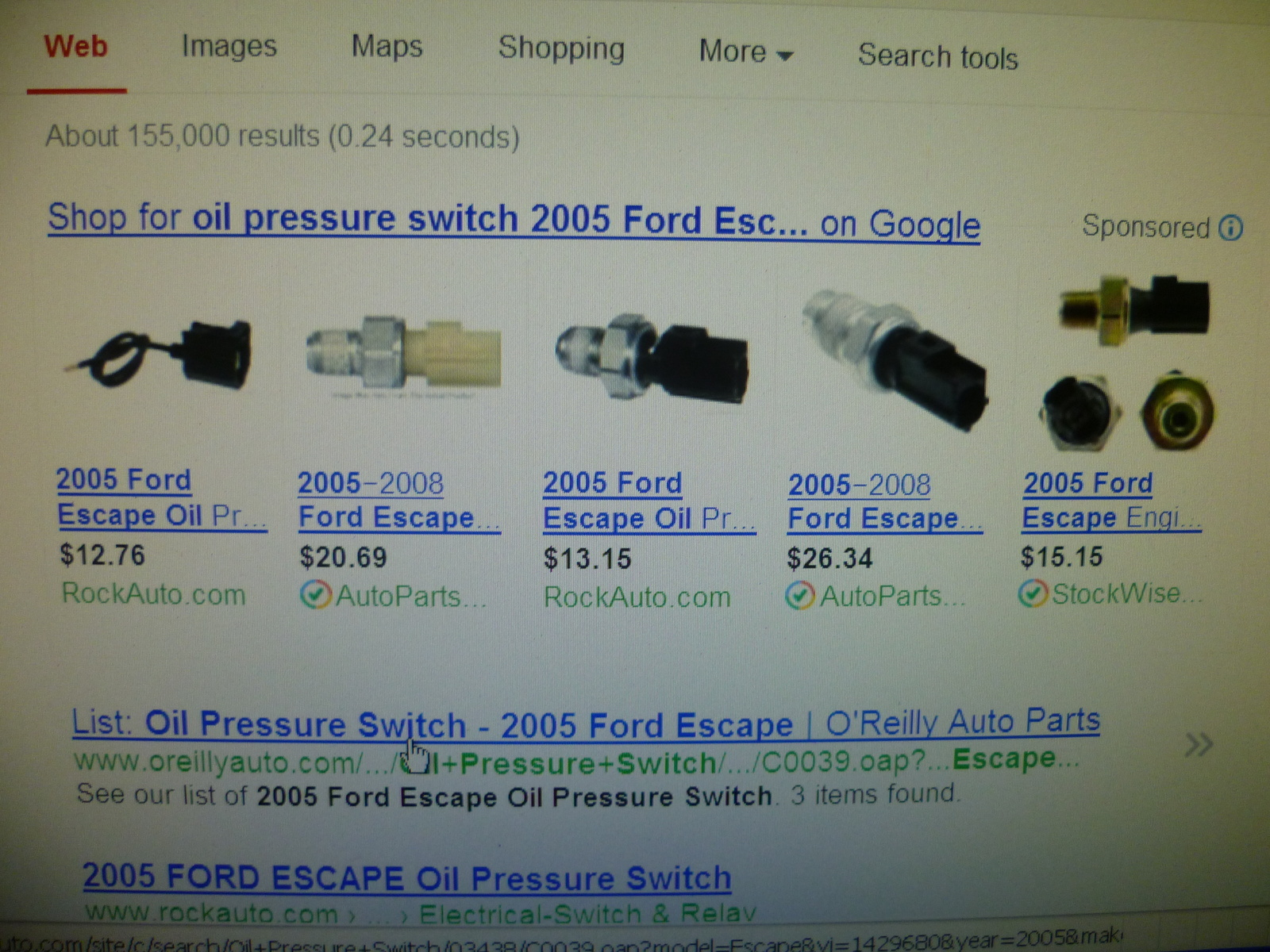 Ford Escape Questions Intermittent oil light CarGurus