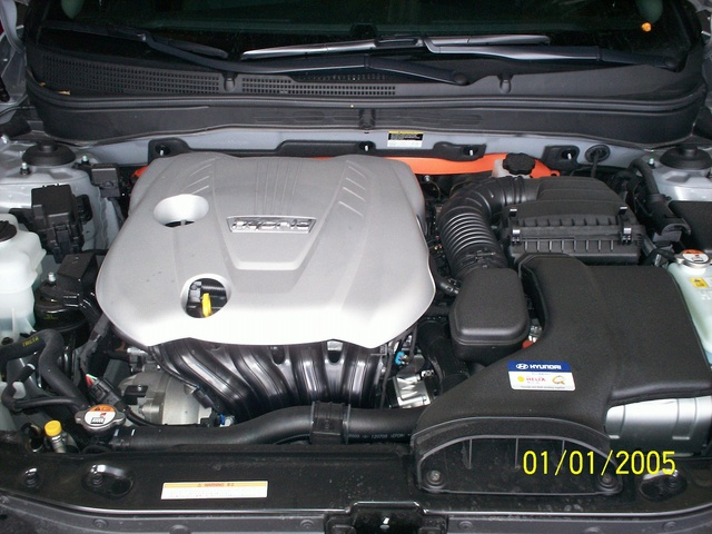 Picture of 2012 Hyundai Sonata Hybrid Base, engine