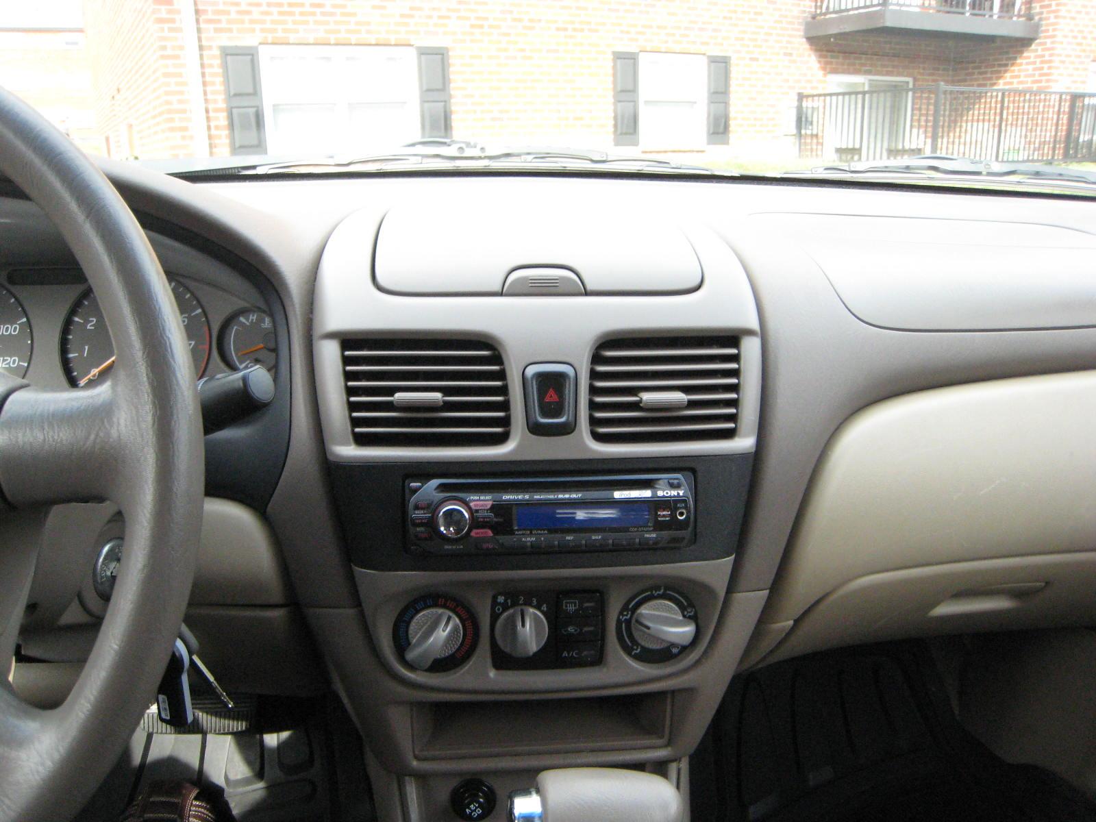 sentra nissan 2003 gxe interior cargurus cars