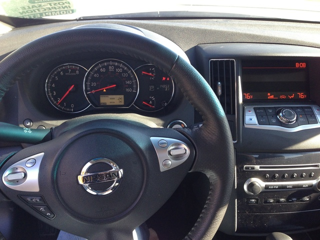 Picture of 2012 Nissan Maxima SV, interior, gallery_worthy