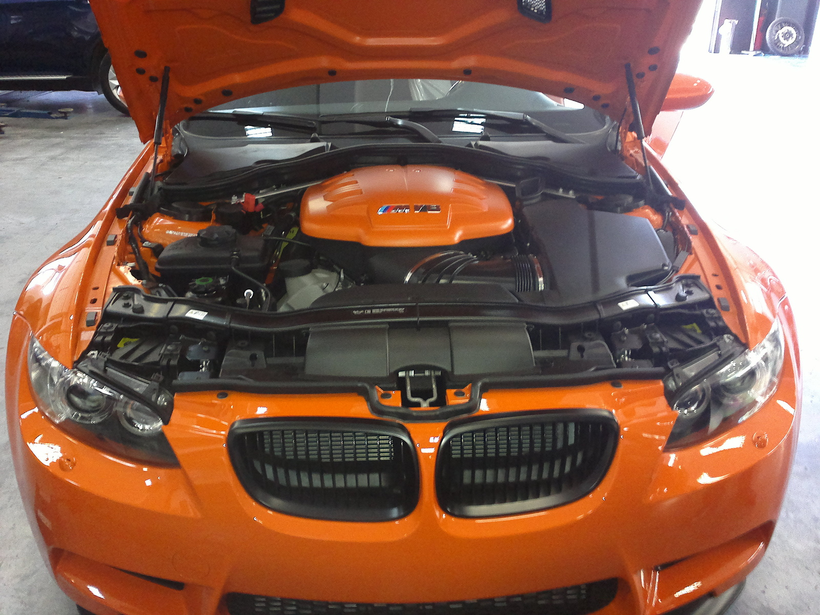 2012 BMW M3 Coupe picture, engine