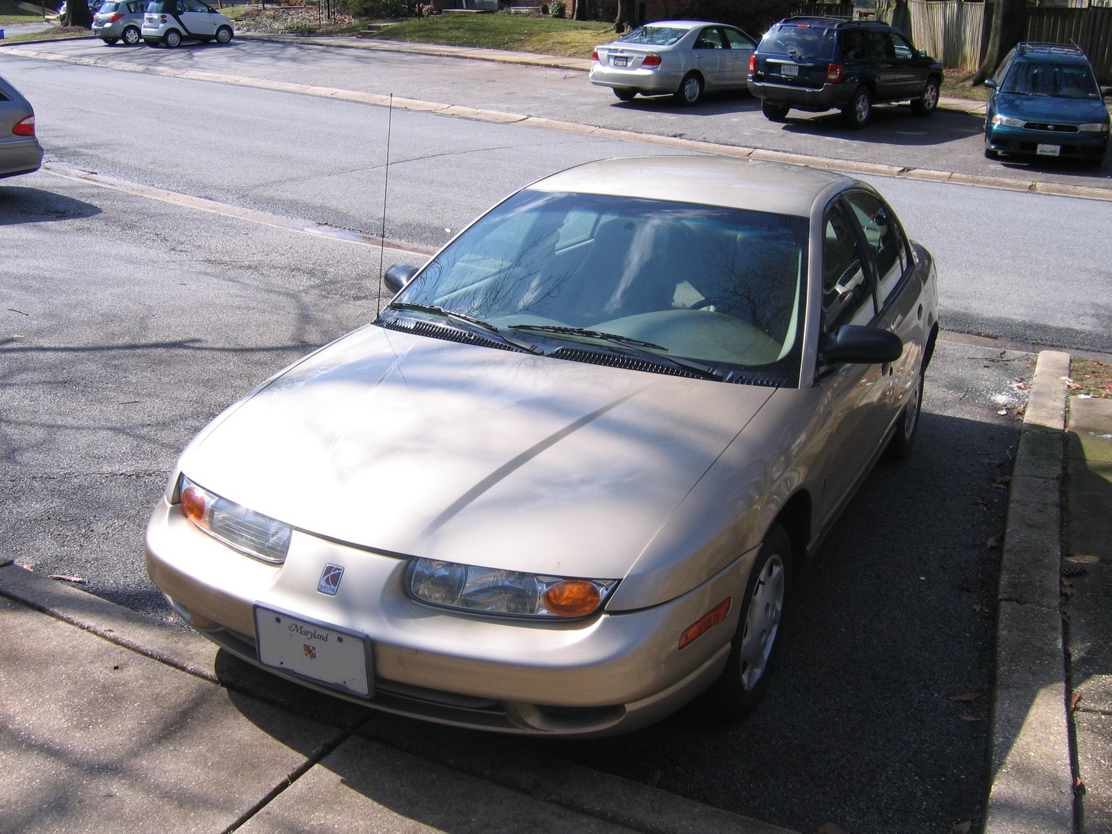 Picture of 2002 Saturn S-Series 4 Dr SL1 Sedan