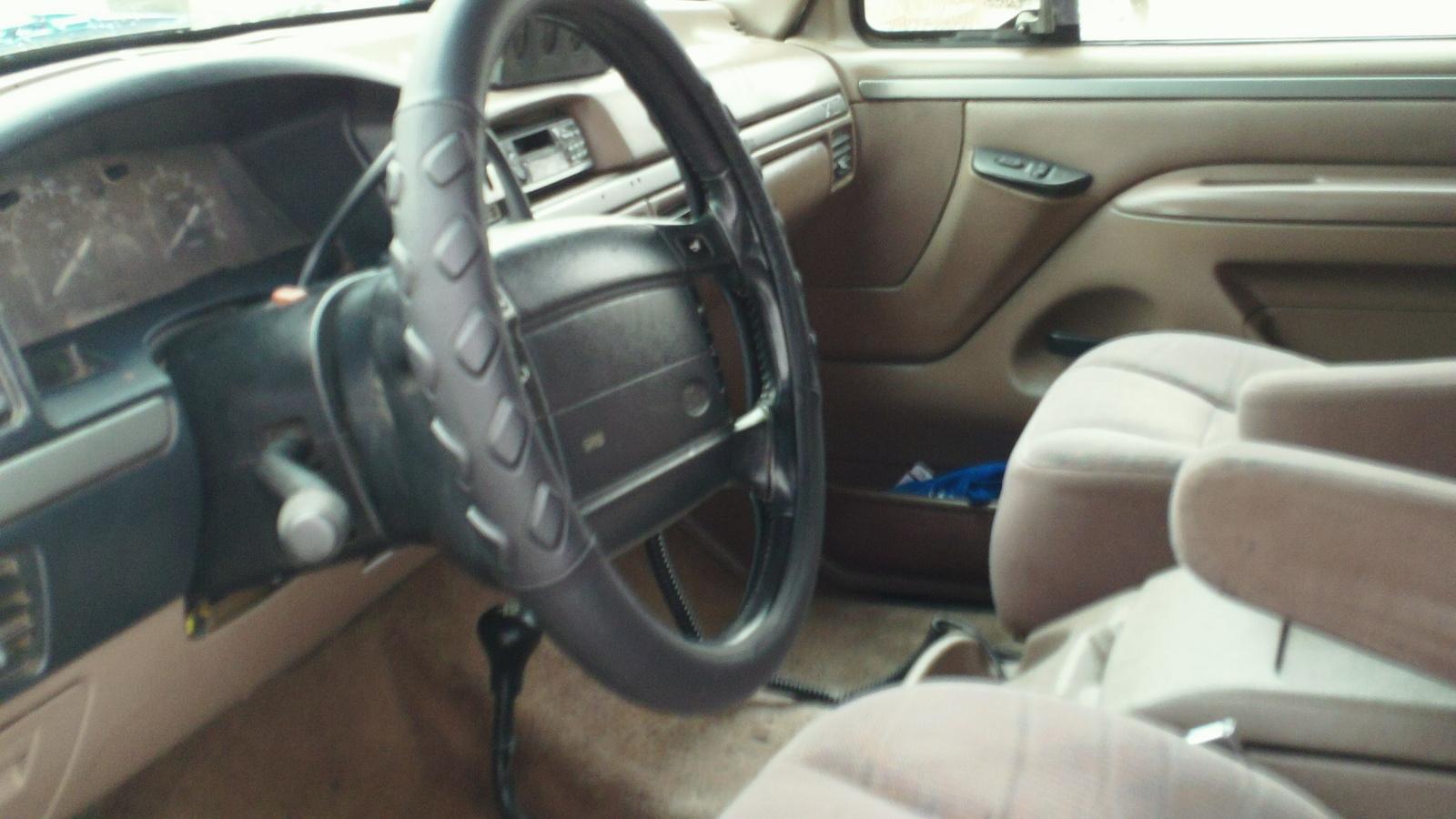 1995 ford bronco interior trim