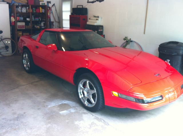 Picture of 1995 Chevrolet Corvette Coupe, exterior, gallery_worthy