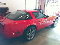 1995 Chevrolet Corvette Coupe, 1995 Chevrolet Corvette Base picture, exterior