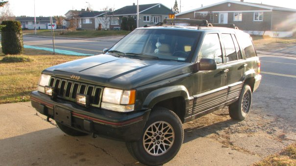 1995 jeep grand cherokee orvis 4wd picture exterior. Cars Review. Best American Auto & Cars Review
