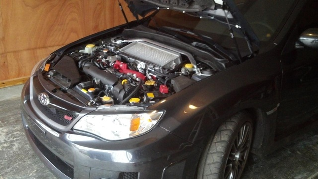 Picture of 2012 Subaru Impreza WRX STi Limited, engine