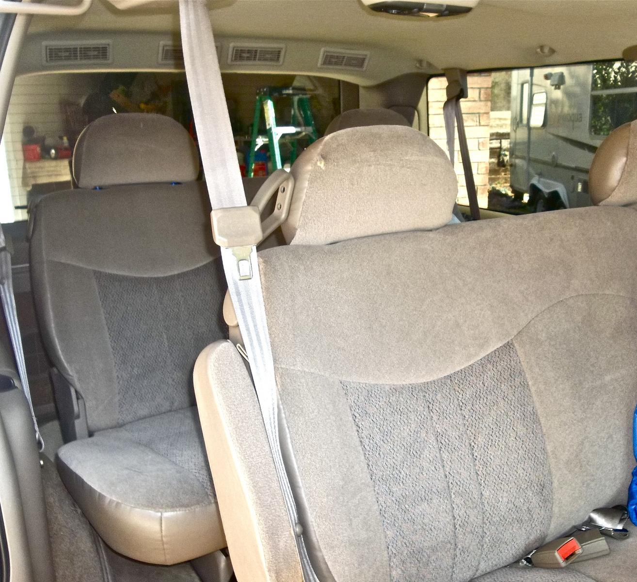 1992 Gmc Safari Cargo Interior: 2002 Chevrolet Astro