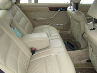 Picture of 1990 Mercedes-Benz 350-Class 4 Dr 350SDL Turbodiesel Sedan, interior