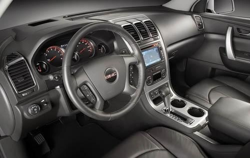 Perfect Picture Of 2010 GMC Acadia SLT1, Interior, Gallery_worthy Great Pictures