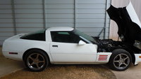 1992 Chevrolet Corvette Coupe, Picture of 1992 Chevrolet Corvette Base, engine, exterior