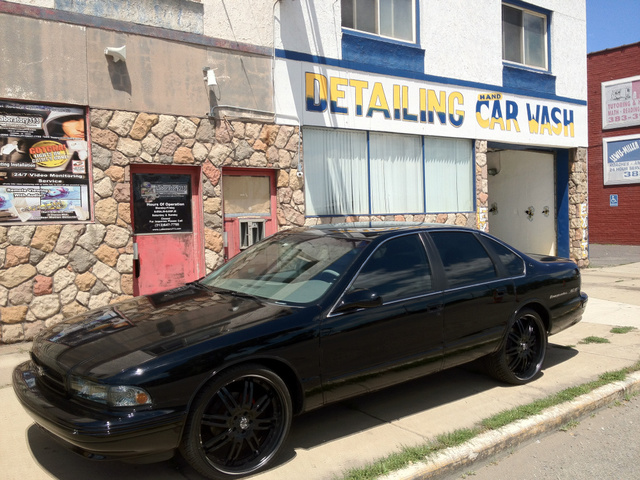 1995 Chevrolet Impala 4 Dr SS Sedan, Still my dream car even though I drive it from time to time.., exterior