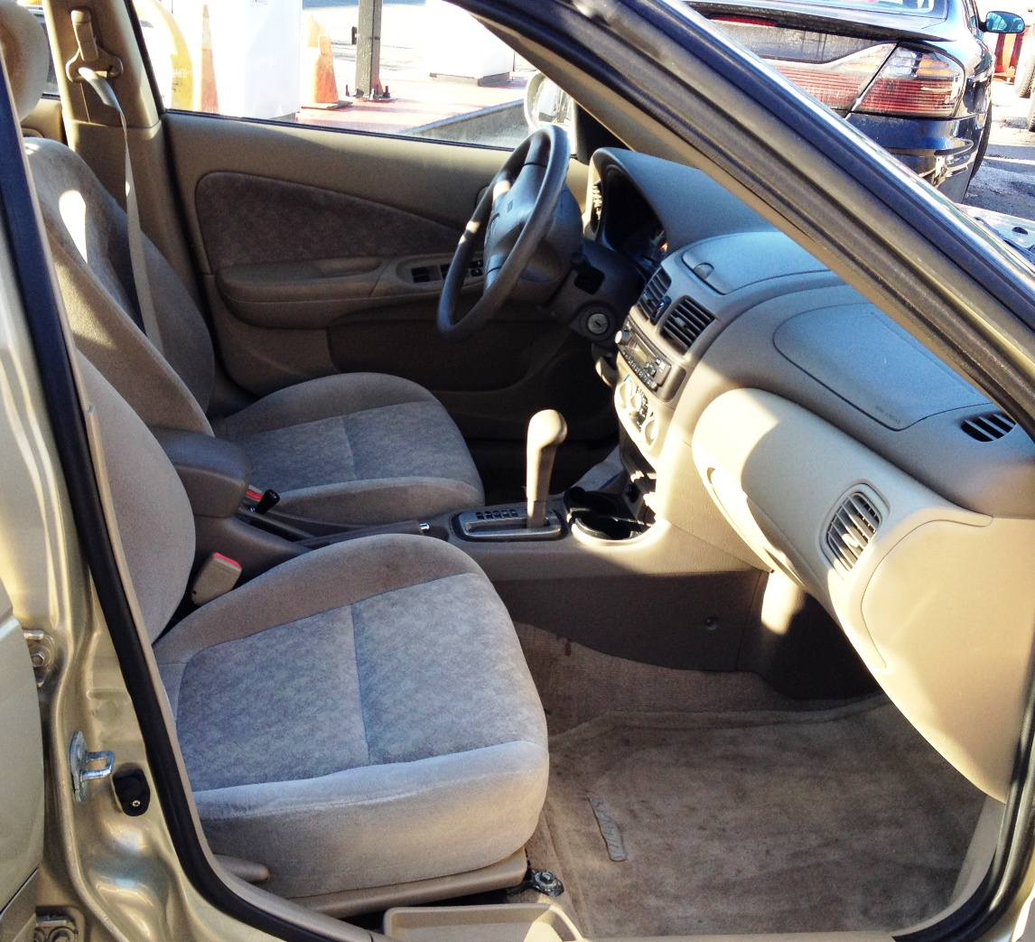 1996 Nissan Regular Cab Interior: 2001 Nissan Sentra