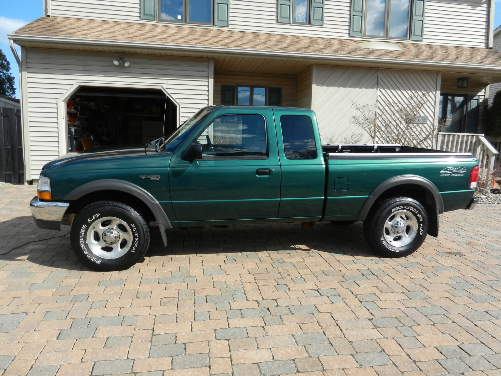 sb picture of 2000 ford ranger 2 dr xlt 4wd extended cab. Black Bedroom Furniture Sets. Home Design Ideas