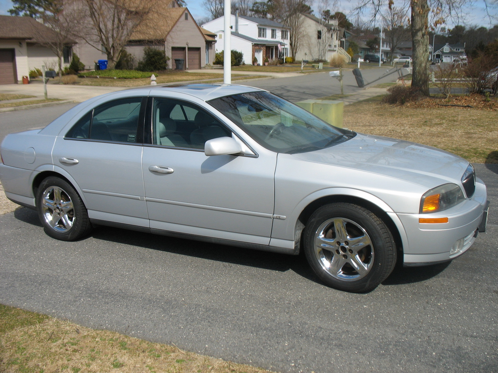 2001 Lincoln Ls V6 Related Infomationspecifications Weili Continental Wiring Diagram V8 Picture Exterior