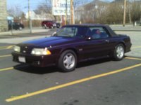 1988 Ford Mustang GT Convertible, my girl, exterior