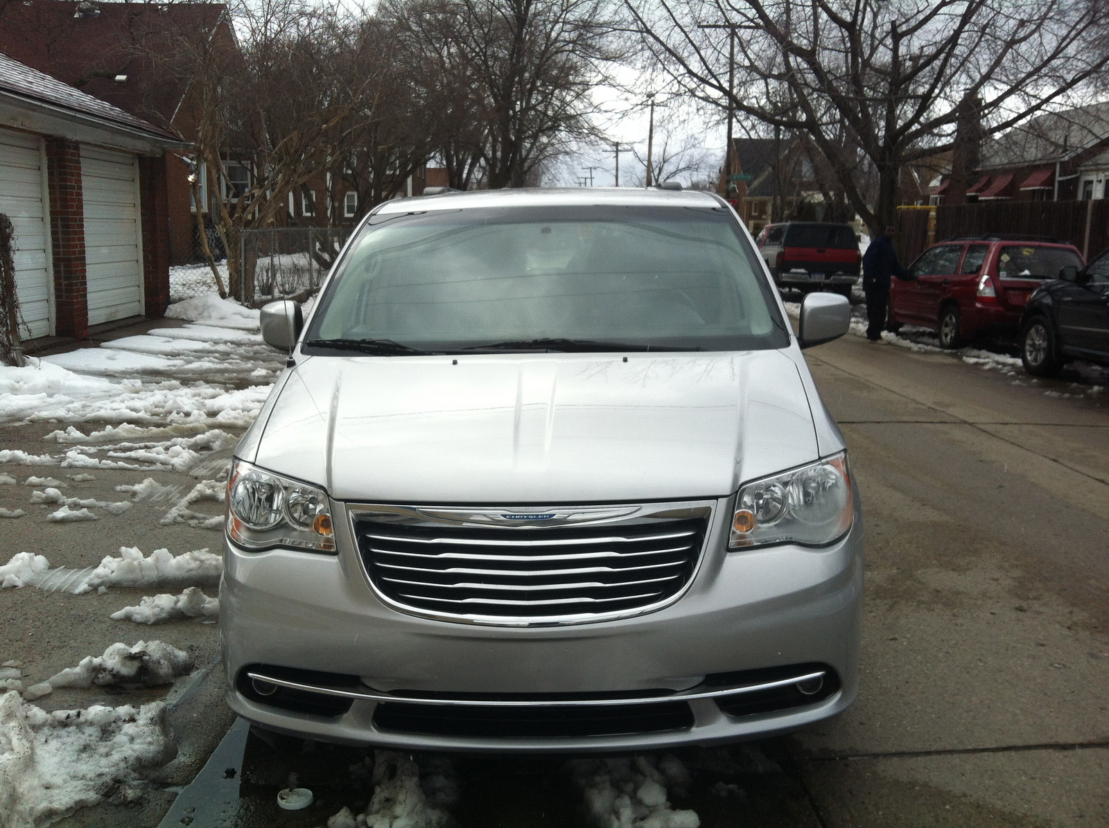 picture of 2012 chrysler town country touring exterior. Cars Review. Best American Auto & Cars Review