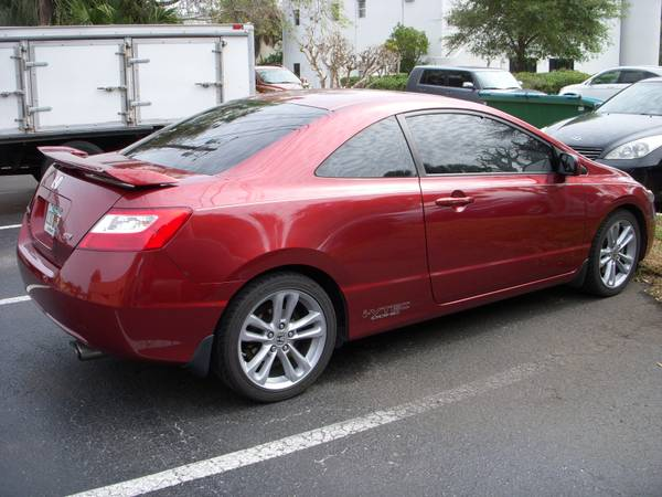 2008 honda civic si coupe for sale. Black Bedroom Furniture Sets. Home Design Ideas