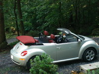 Picture of 2009 Volkswagen Beetle Blush Edition Convertible, exterior