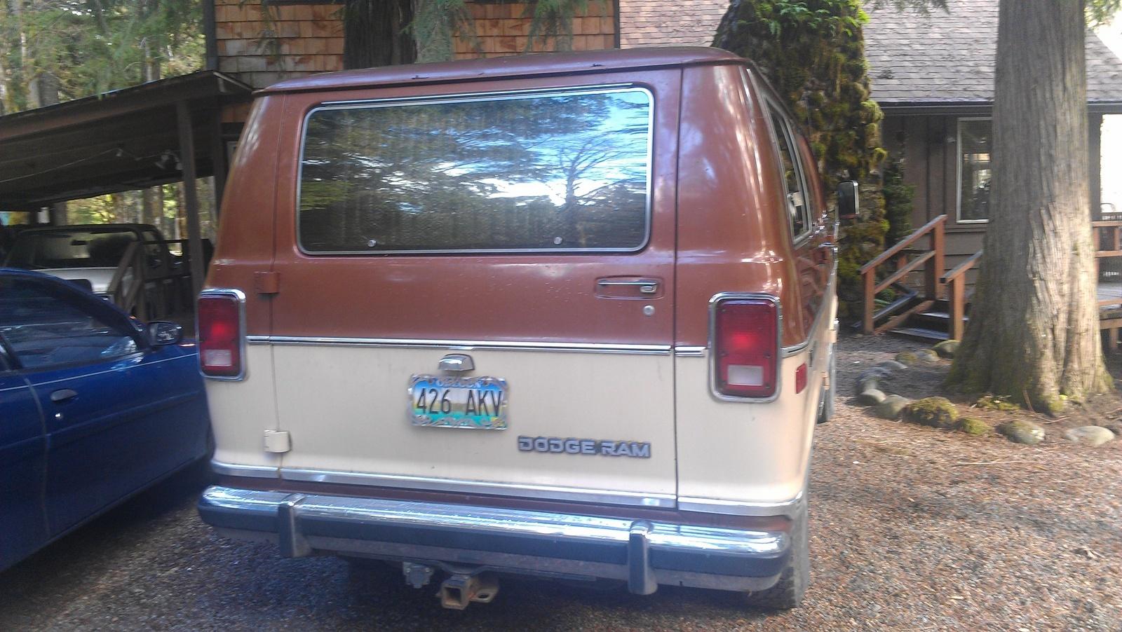 1984 Dodge Ram Van Test Drive Review Cargurus