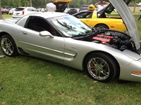Picture of 2001 Chevrolet Corvette Z06, exterior, engine