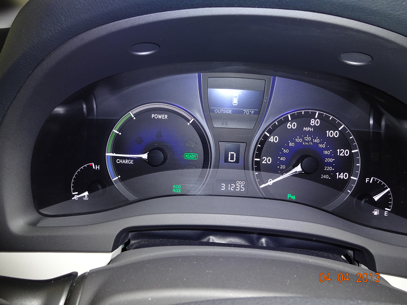 Picture of 2010 Lexus RX 450h Base, interior